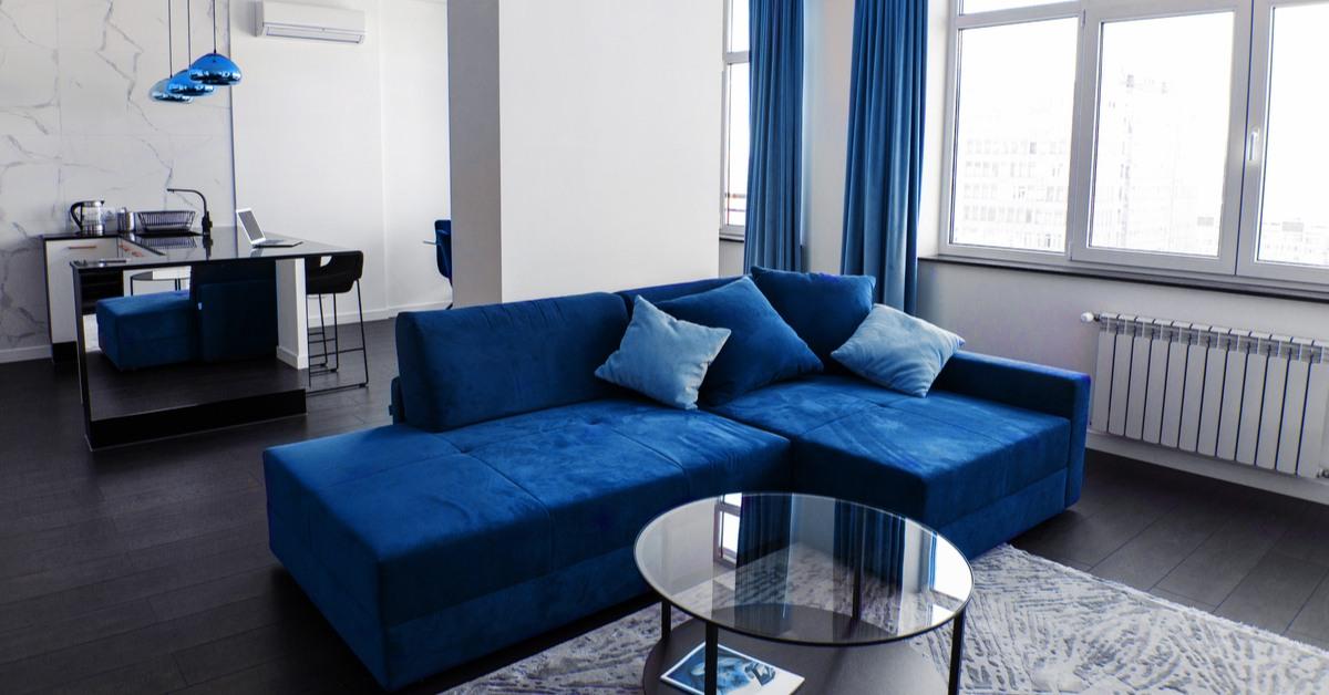 Furniture in classic modern decorating