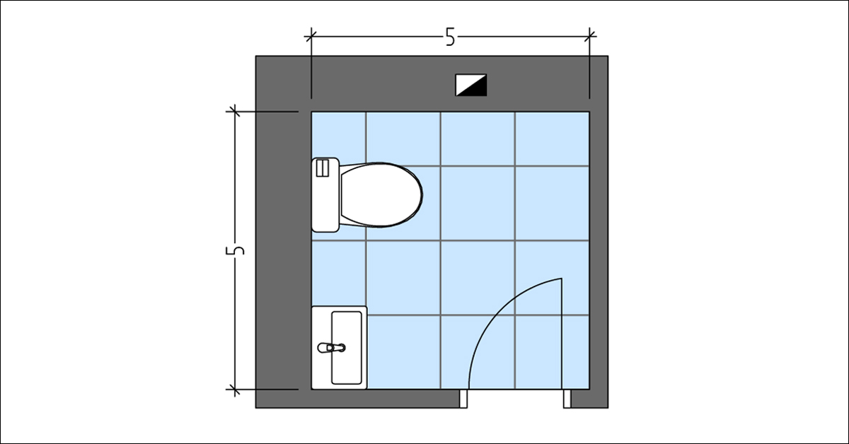 The Most Efficient Powder Room Layout