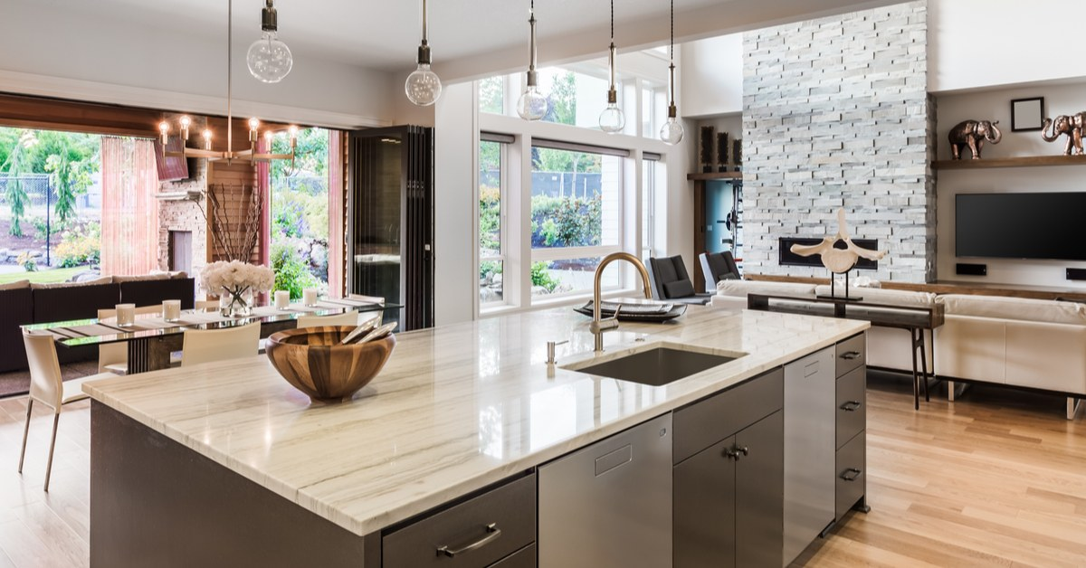 Using decor in the kitchen
