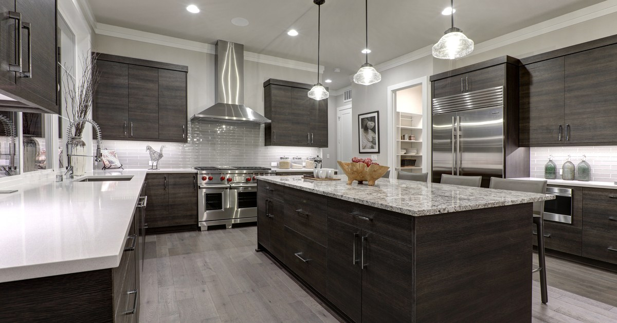 Fully renovated kitchen timelines and details