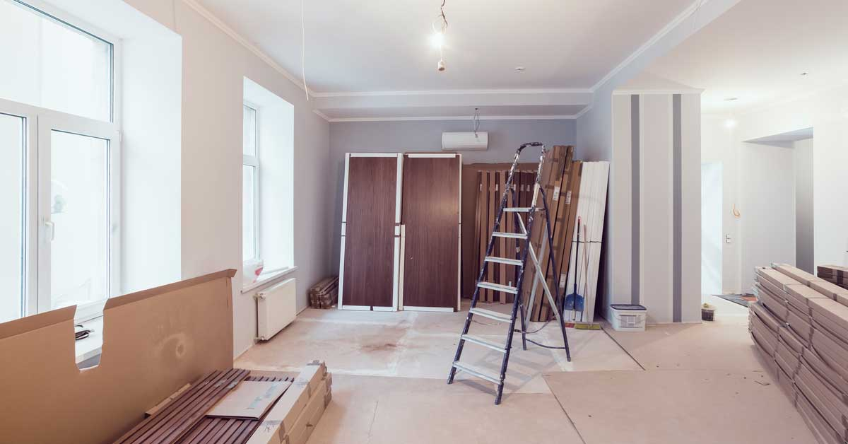Half way there in condo renovation process