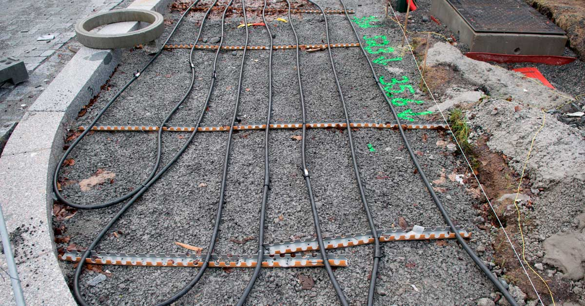 Installation of driveway heaters explained