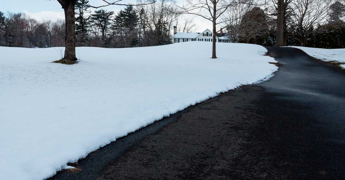 Lifespan of driveway heating system